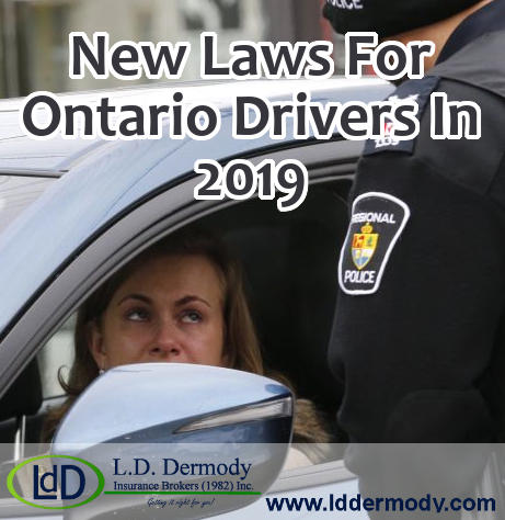 New Laws for Ontario Drivers in 2019